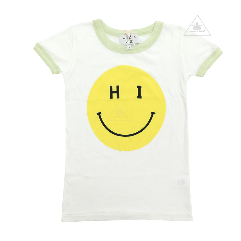 Wildfox Kids Hi Smiley Tee