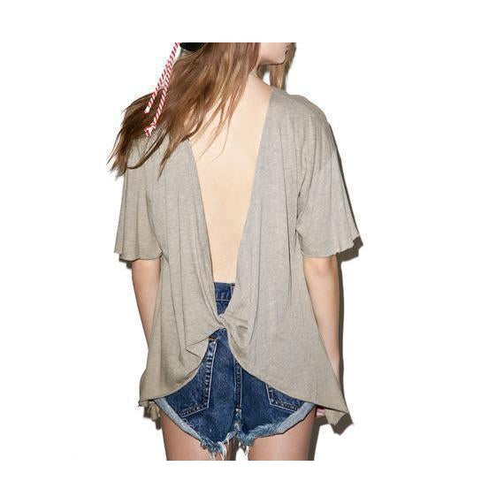 Wildfox Couture Empty Your Pockets Overland Tunic