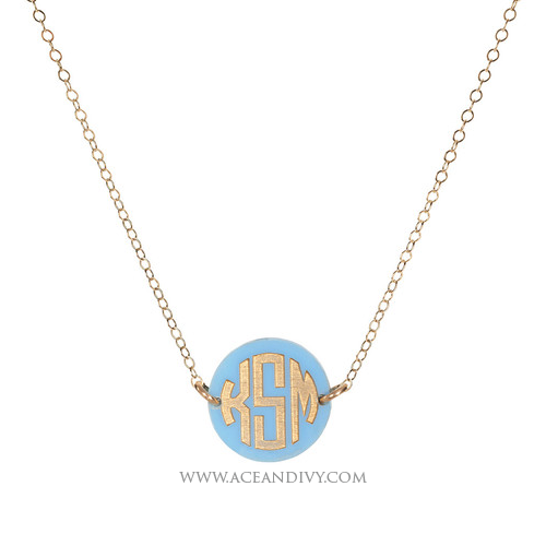 Hartford Monogram Necklace