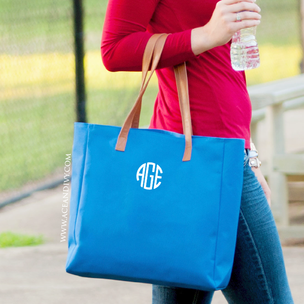 Monogrammed Tailgate Tote