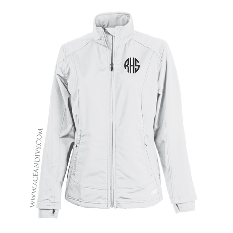 Monogrammed Soft Shell Jacket