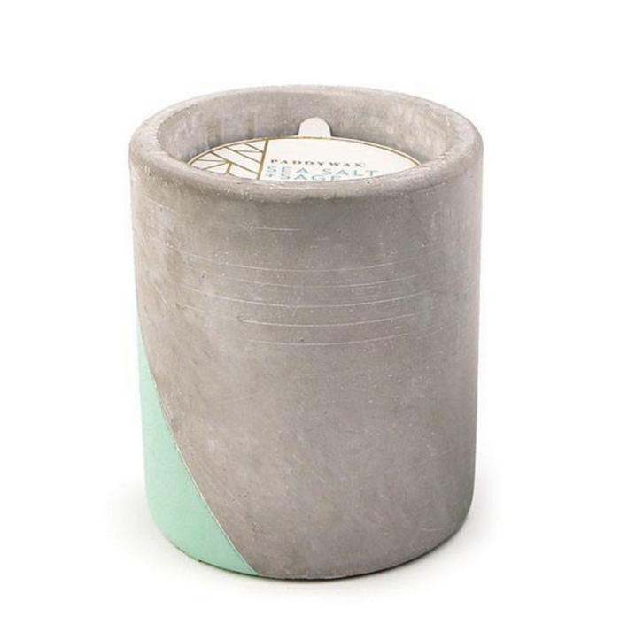 Urban Concrete Candle / Sea Salt & Sage  - Paddywax Candles