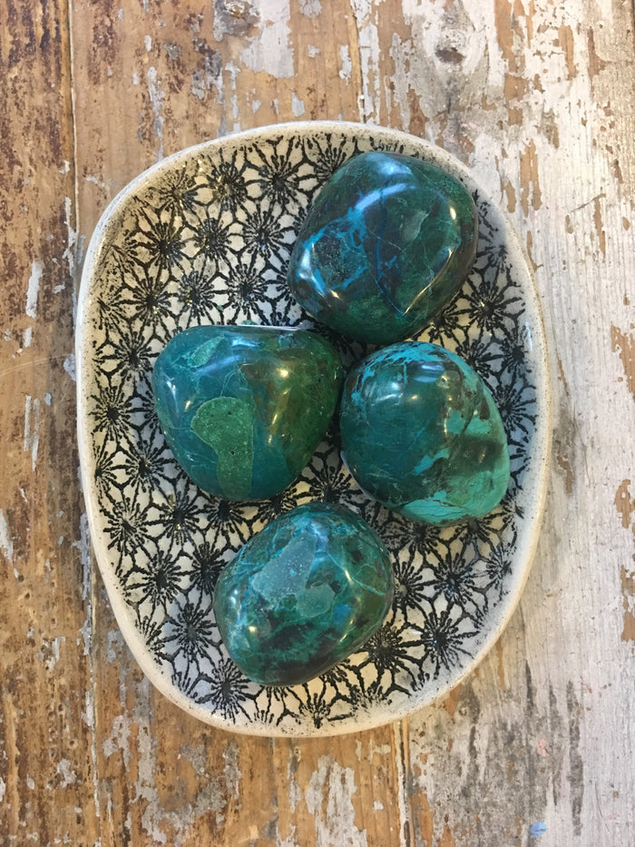 Chrysocolla - Stone of Wide Woman