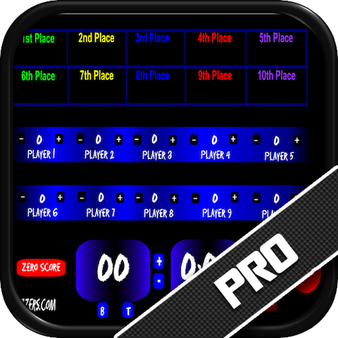 PickMe! 10 Player Tracker Software with Scoreboard/Timers - PC Version