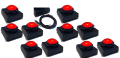 10 Player Wireless Buzzer - Red