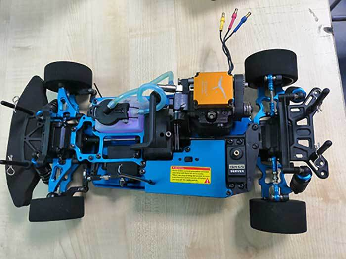 4 Stroke RC Engine