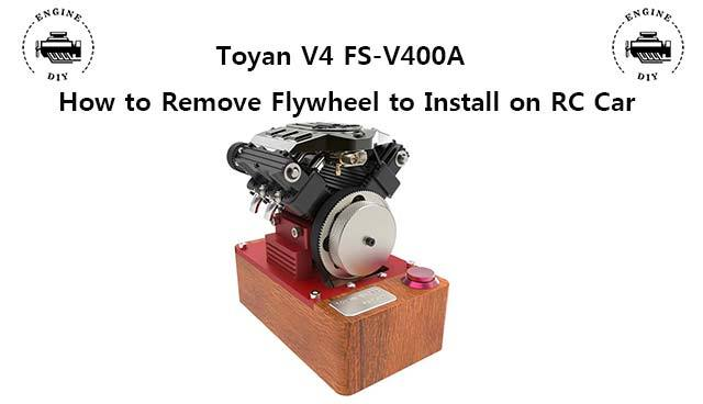 How to Remove Toyan V4 FS-V400A Flywheel ?