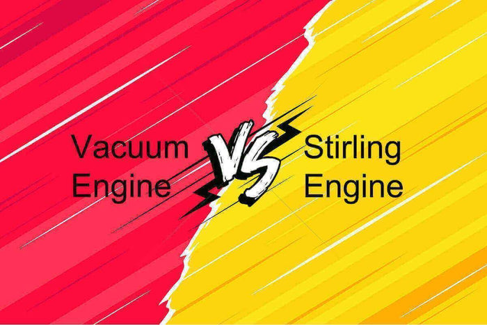 Vacuum Engine VS Stirling Engine, Who Wins?