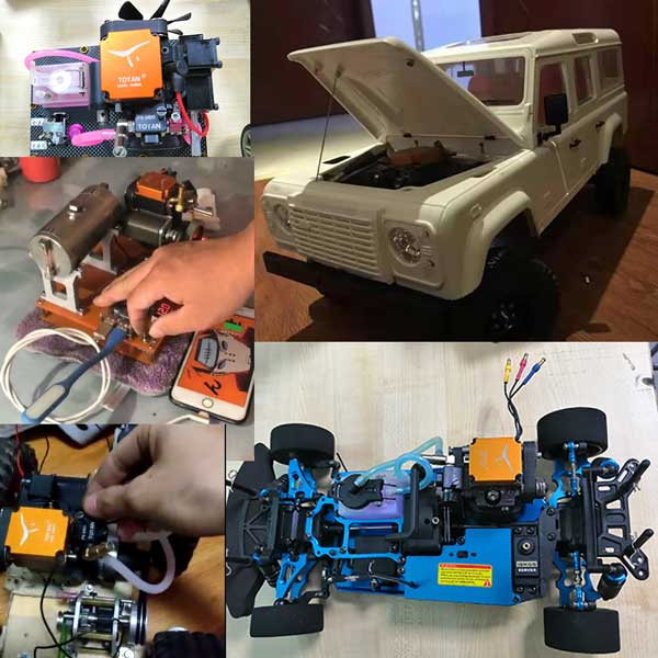 4 Stroke RC Engine masterpiece - enginediy from buyer