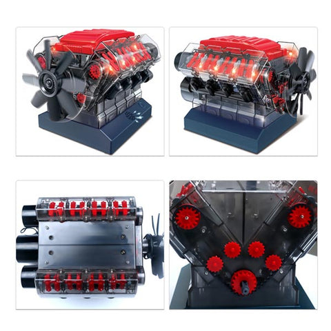 V8 engine model kit
