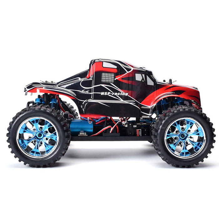 HSP 94111PRO 1/10 RC Car 2.4G 4WD Electric Brushless Monster Truck High Speed Vehicle Remote Control Car - RTR Version