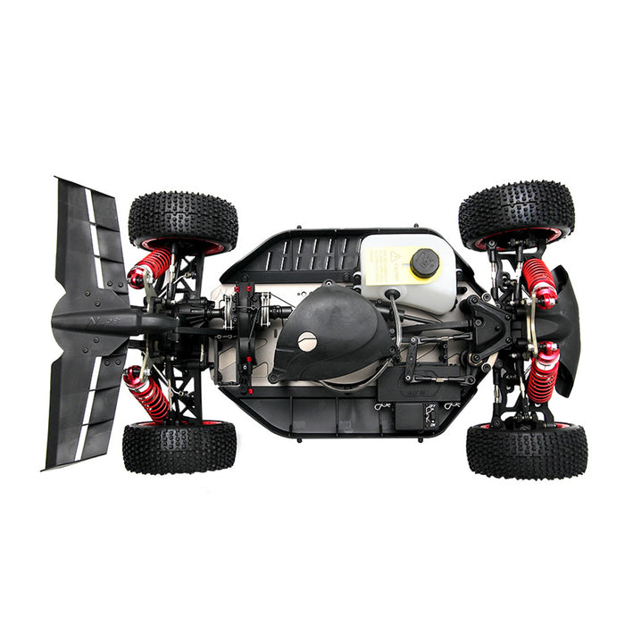 30°N 1/5 High-speed Racing Car Frame 4WD Off-road Vehicle Frame RC Car Frame (Excluding Engine and Electronic Equipment) - Random Color - enginediy
