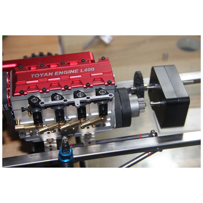 Metal Gearbox with Reverse Neutral Forward Gear for TOYAN Engine Modified Gasoline Powered Model Car