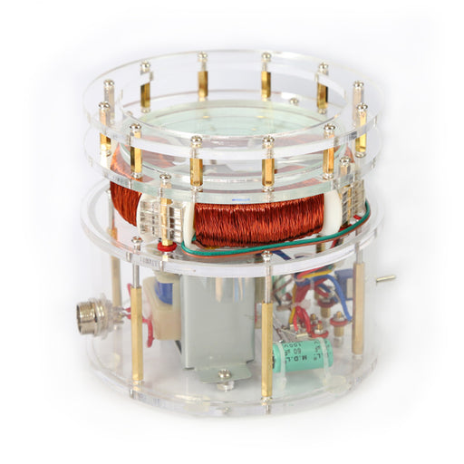 Tesla's Egg of Columbus AC Motor Tesla Coil Motor Science Motor Model - Aluminum Egg Version