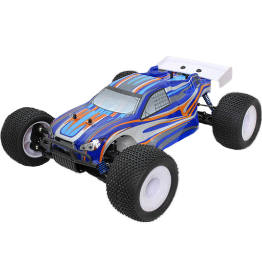 VRX RH811 1/8 Scale 4WD Brushless Off-road Monster Truck High Speed 2.4G RC Car with 120A ESC and 3674 Motor - R0021 RTR Version - enginediy