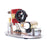 α Type Double Cylinder Stirling Engine Generator Model with LED Lamp Beads, Voltage Display Meter, Double Piston Rocker Arm Linkage