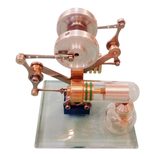 enginediy Single Cylinder Stirling Engine Miniature Stirling Engine Model Balance Stirling Engine Kit Science Toy Enginediy