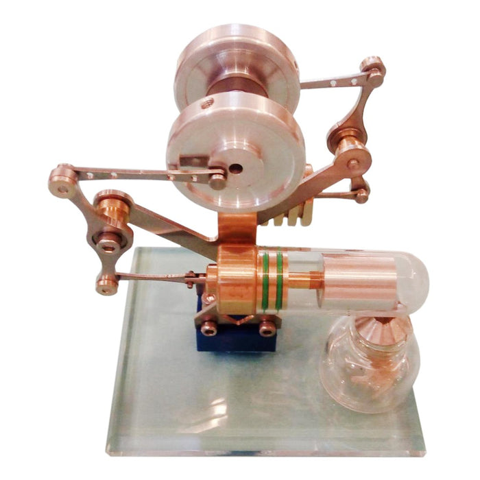 Miniature Stirling Engine Model Balance Stirling Engine Kit Science Toy Enginediy - enginediy