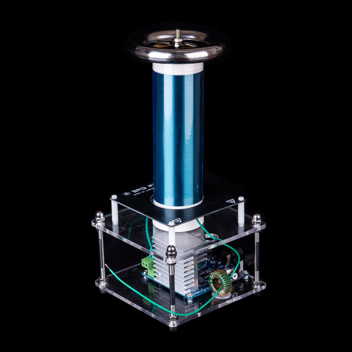 Mini Music Tesla Coil Plasma Loudspeaker with 10cm Arc