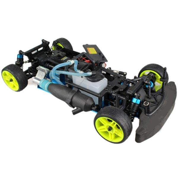 enginediy RC Car 1:10 HSP 94122 Drift RC Car Chassis Frame Kit - Compatible with Toyan Engine