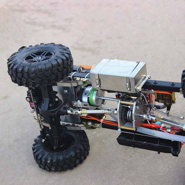 1/10 Toyan Engine RC Car Set with Toyan Petrol Engine and 4 Channel Remote Controller - enginediy