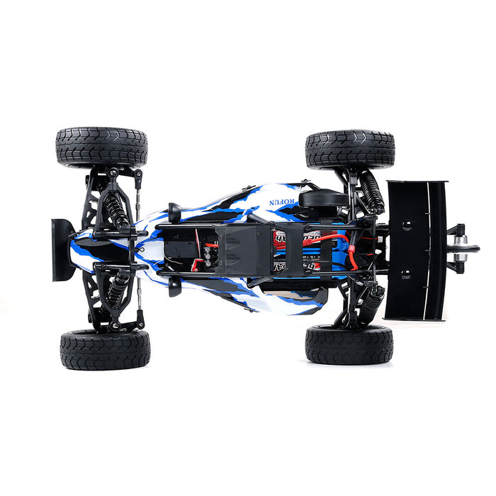 ROFUN EQ6 1/6 90+KM/H 2WD Rear Drive Brushless Off-road Vehicle 2.4G RC High Speed Model Car with Battery and Charger