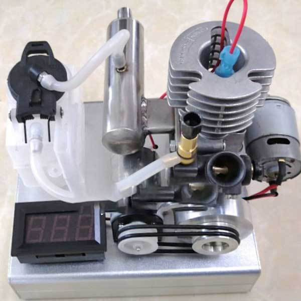 enginediy Engine Models 15 Stage 30 Watt Gasoline Low Voltage Generator Motor - One Button Start - Ideal Gift Collection