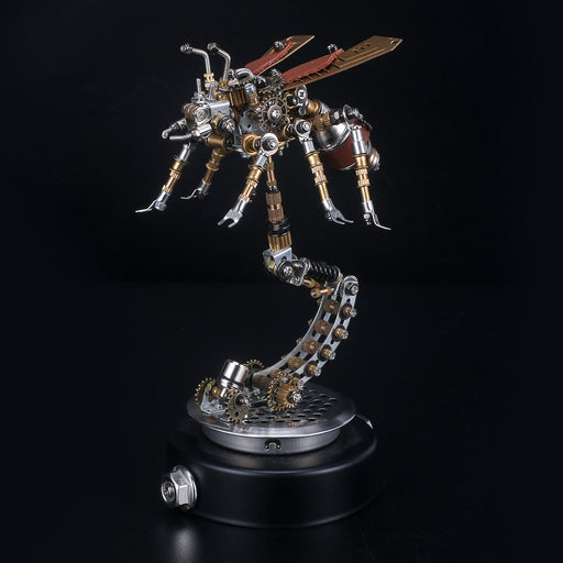 3D Puzzle Model Kit Mechanical Termite with Holder - enginediy