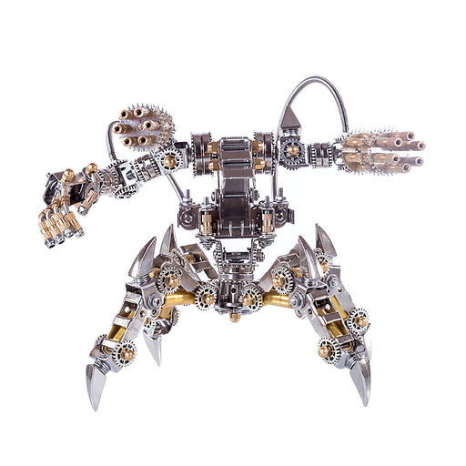 3D Puzzle Model Kit Magnetic Mecha Metal Games DIY Assembly Jigsaw Crafts Creative Gift - enginediy