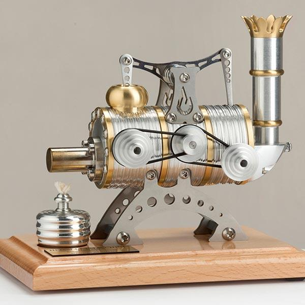 enginediy Single Cylinder Stirling Engine Stirling Engine High Precision Single-cylinder Mechanism Stirling Engine - Enginediy