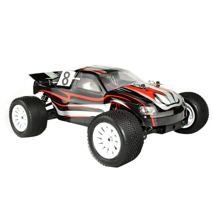 VRX RH1817 1/18 Scale 4WD Brushless RC Car Monster Truck High Speed 2.4GHz Radio Remote Control Car for Kids - R0134 Black - enginediy