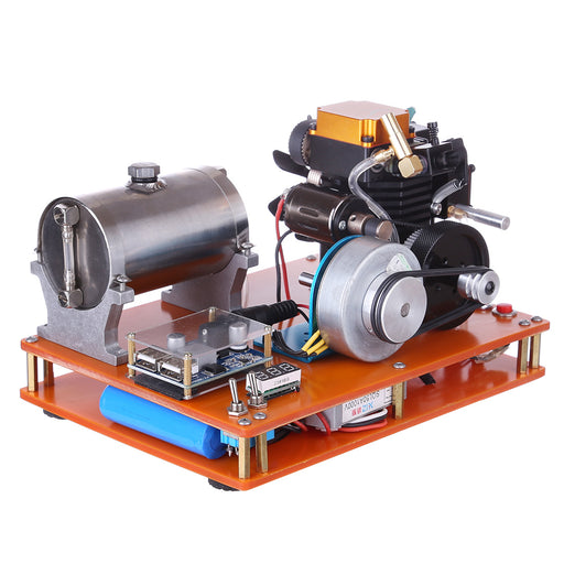 Toyan FS-S100 4 Stroke Methanol Engine 12V DIY Electric Generator Science Toy - Enginediy