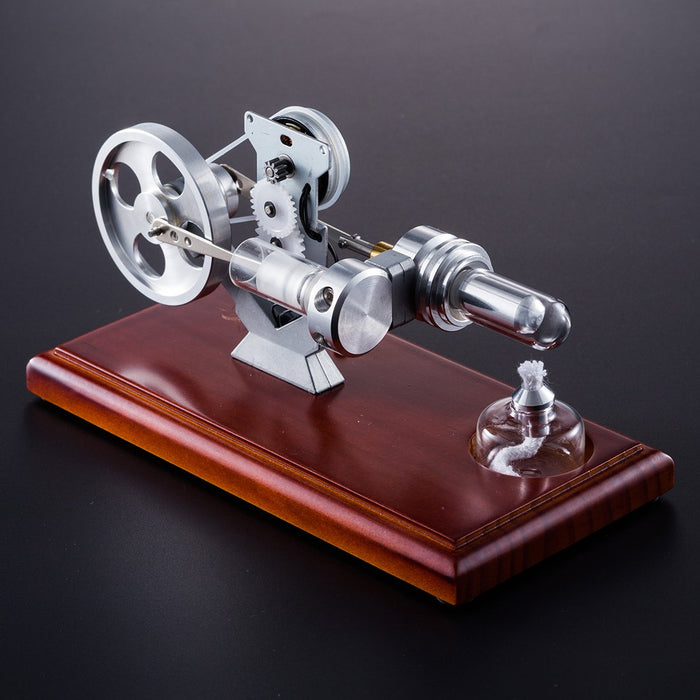 enginediy Stirling Engine with LED Stirling Engine Kit Electricity Generator with LED Light