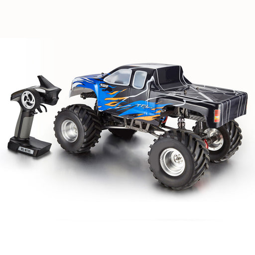 1/10 4WD RC Electric Car Monster Truck Simulation Straight Bridge Big Foot Vehicle- TFL C1610 - enginediy