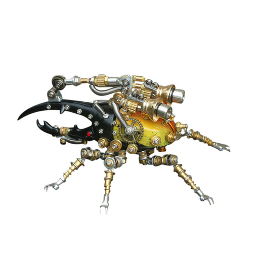 3D Puzzle Model Kit Mechanical Dynastes Metal Games DIY Assembly Jigsaw Crafts Creative Gift - 417Pcs - enginediy