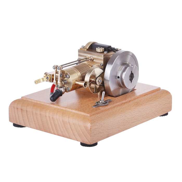 M16 1.6cc Mini 4 Stroke Gasoline Engine Model Vertical Air-cooled Single-cylinder Engine with Wooden Base