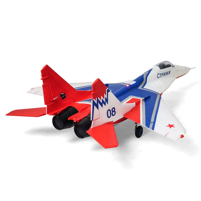 Twin 64mm MiG-29 EDF Fighter RC Plane Electric Airplanes Model Assembly Fixed-wing Aircraft - PNP - enginediy