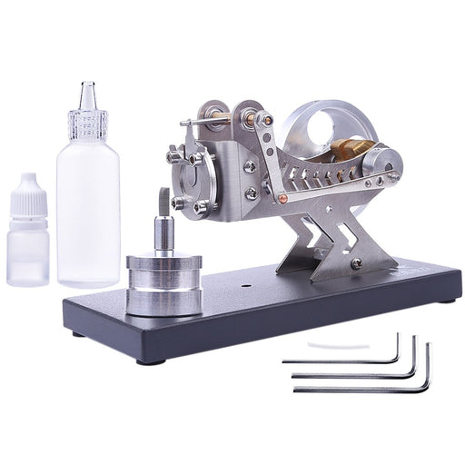 enginediy Vacuum Engine Vacuum Engine Flame-licker Engine Flame-eater Engine Model Kit Educational Toy