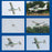 Arrows Hobby 1450mm Tecnam Electric RC Aircraft Fixed Wing Model Airplane with Flight Control System - PNP