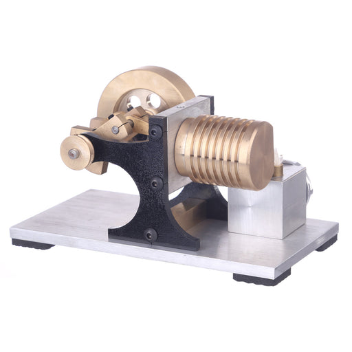 Single Cylinder Stirling Engine Model | Suction Fire Type Bracket Version