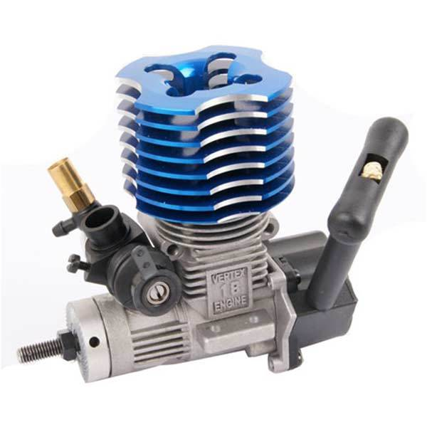 2 Stroke RC Car Engine 36000 RPM 2.95CC Methanol 18 RC Engine with RC Engine Mount for HSP HPI 1:10 Car Buggy Truggy Truck - enginediy