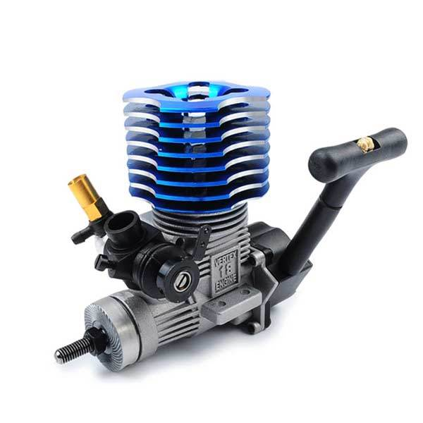 enginediy 2 Stroke RC Car Engine 36000 RPM 2.95CC Methanol 18 RC Engine with RC Engine Mount for HSP HPI 1:10 Car Buggy Truggy Truck