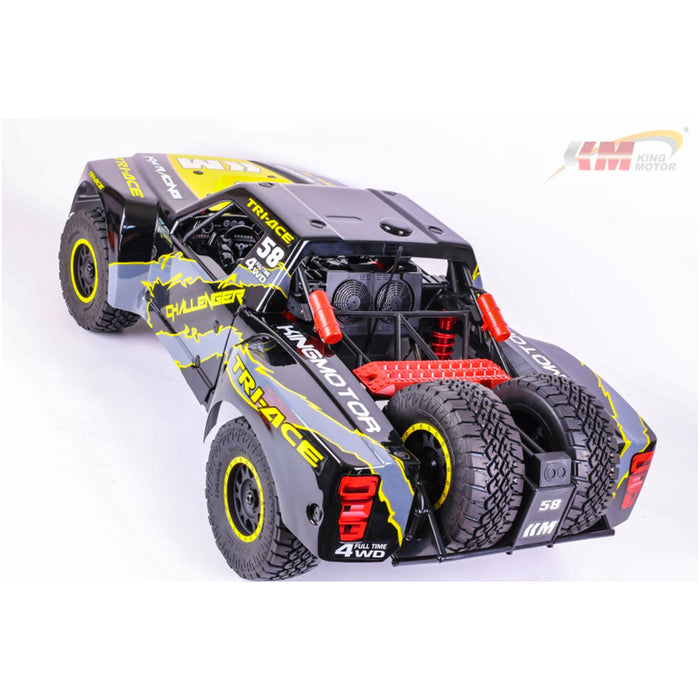 KING MOTOR KM-Challenger 1/6 4WD Brushless Electric Remote Control Short Course Car - enginediy