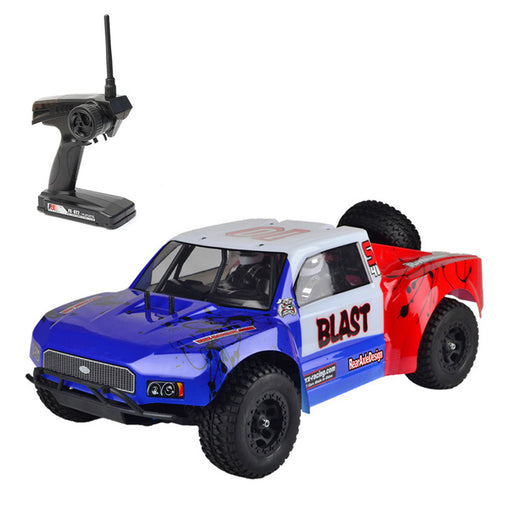 VRX RH1045SC 1/10 Scale 4WD Brushless Desert Short Course Truck High Speed 2.4G RC Car with 45A ESC and 3650 Motor - R0255 RTR Version - enginediy