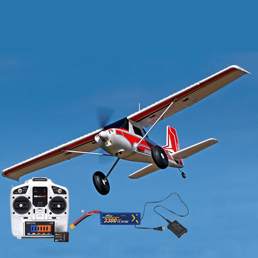 RTF RC Plane Electric Airplanes 1300mm Bigfoot Assembly Fixed-wing Aircraft DIY Model - enginediy