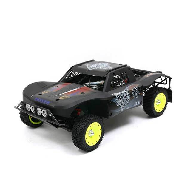 enginediy RC Car Black 30 Degrees North 30°N DTT-7S 1/5th Scale 4WD 80km/h 38cc Petrol RC Car
