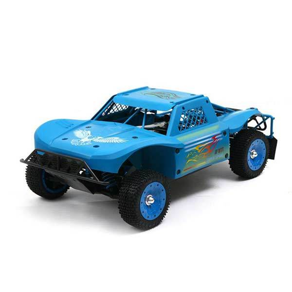 enginediy RC Car Blue 30 Degrees North 30°N DTT-7S 1/5th Scale 4WD 80km/h 38cc Petrol RC Car