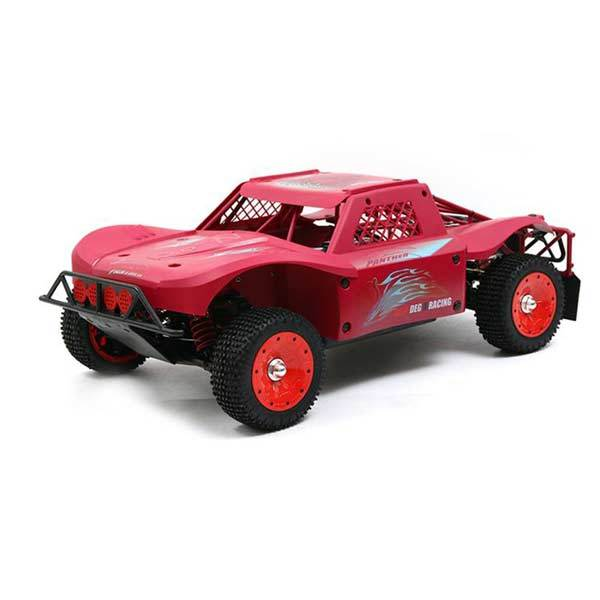 enginediy RC Car Red 30 Degrees North 30°N DTT-7S 1/5th Scale 4WD 80km/h 38cc Petrol RC Car