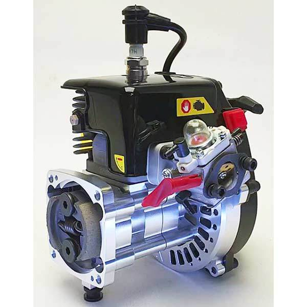 enginediy RC Engine 30°N 38cc 5HP 4-Bolt Motor Engine CNC Crankase fit Losi 5iveT Rovan LT KM X2 Redcat