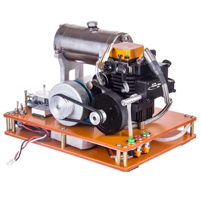Toyan FS-S100G 4 Stroke Gasoline Engine 12V DIY Electric Generator Science Toy - Enginediy